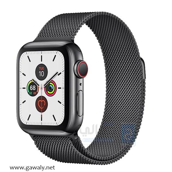 سعر ومواصفات ساعة ابل الجيل الخامس Apple Watch Series 5 موقع جوالي